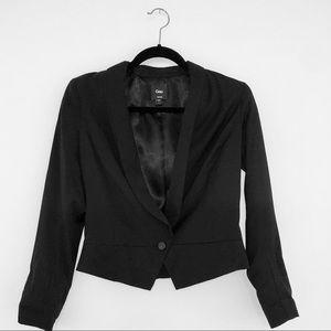 Women's Gap Cropped Black Blazer